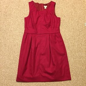 J. Crew dress- hot pink- size 10